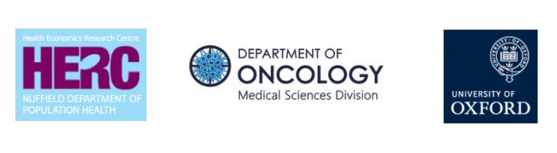 Department of Oncology Combined Logos